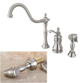 Templeton Satin Nickel Single-handle Kitchen Faucet