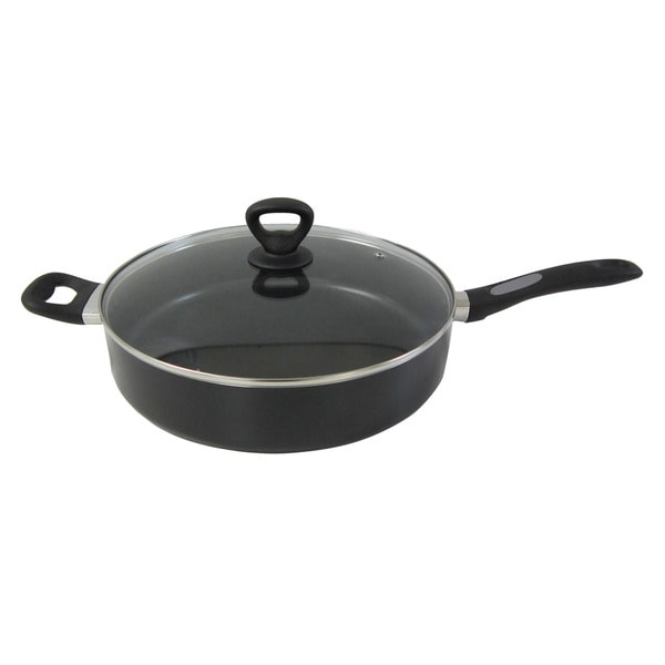 Mirro Get A Grip Nonstick 12 Inch Covered Saute Pan Free