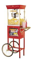 Nostalgia Electrics Vintage Popcorn and Concession Cart