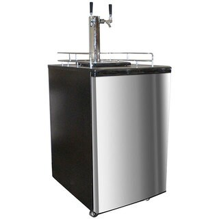 Nostalgia Electrics KRS-6100SS Double Kegorator Twin Tap Beer Keg Fridge|https://ak1.ostkcdn.com/images/products/5556192/P13329319.jpg?_ostk_perf_=percv&impolicy=medium