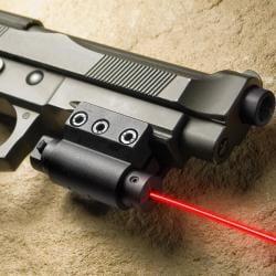 Barska Red Laser Pistol and Rifle Gun Sight - Thumbnail 1