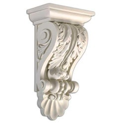 Leaf Corbel 14.5-inch Wall Decoration