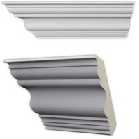 Shop 3 5-inch Cove Crown Molding (8 pieces) - Free Shipping Today