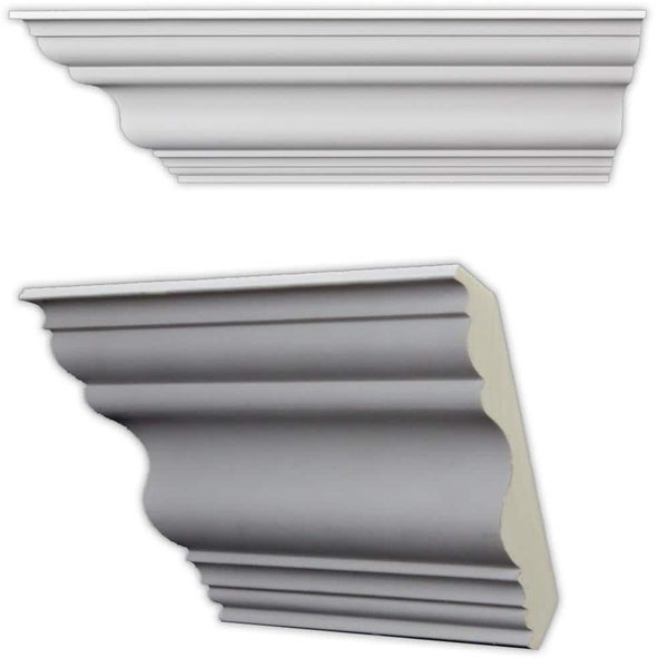 traditional 55inch crown molding pack of 8