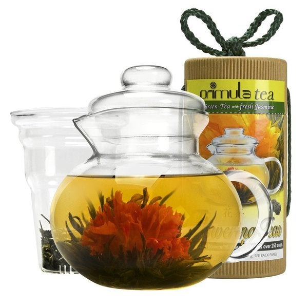 Flowering Tea is a new tradition that celebrates the tea leaf. Hand-picked, organically grown, premium white tender tea buds, top two green tea leaves, and golden-tipped black tea are hand sewn into bundles or rosettes with cotton thread by artisans in various regions of layoffider.mls: