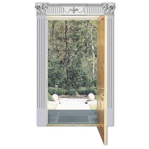 Renaissance-style Door Pediment Set
