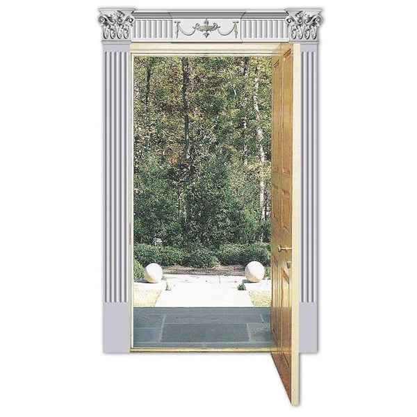 Renaissance Style Door Pediment Set