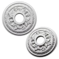 uDecor Acanthus 15.5-inch Ceiling Medallion