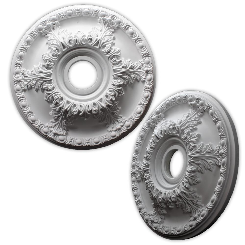 acanthus leaf and egg 19inch ceiling medallion - Ceiling Medallion
