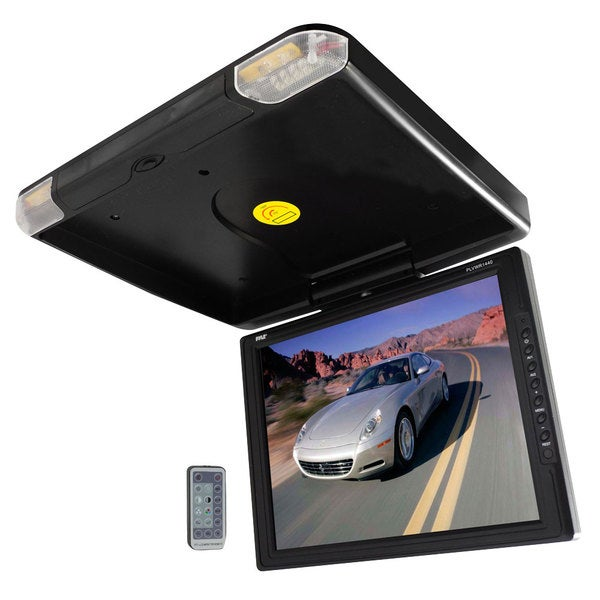 Pyle 14-inch High Resolution TFT Roof Mount Monitor/ IR Transmitter (Refurbished)