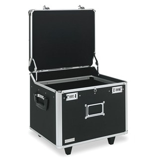 Vaultz Locking Mobile File Chest and Storage Box