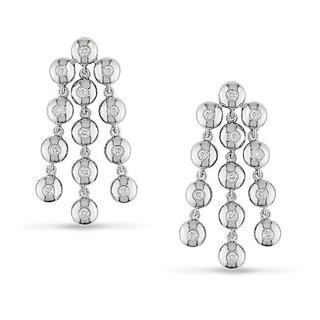 Miadora 14k White Gold 1/2ct TDW Diamond Earrings