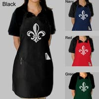 Los Angeles Pop Art Fleur de Lis Kitchen Apron
