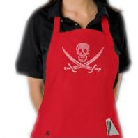 Los Angeles Pop Art Pirate Kitchen Apron (4 options available)