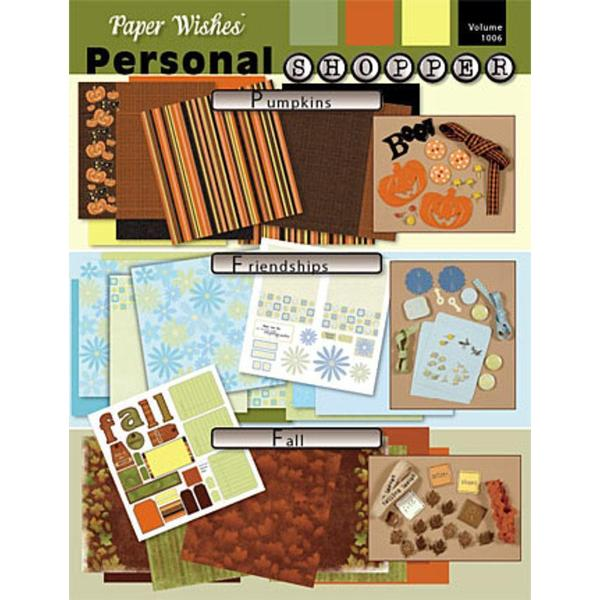 Scrapbooking Personal Shopper October 2006 Fall & Friendship Set
