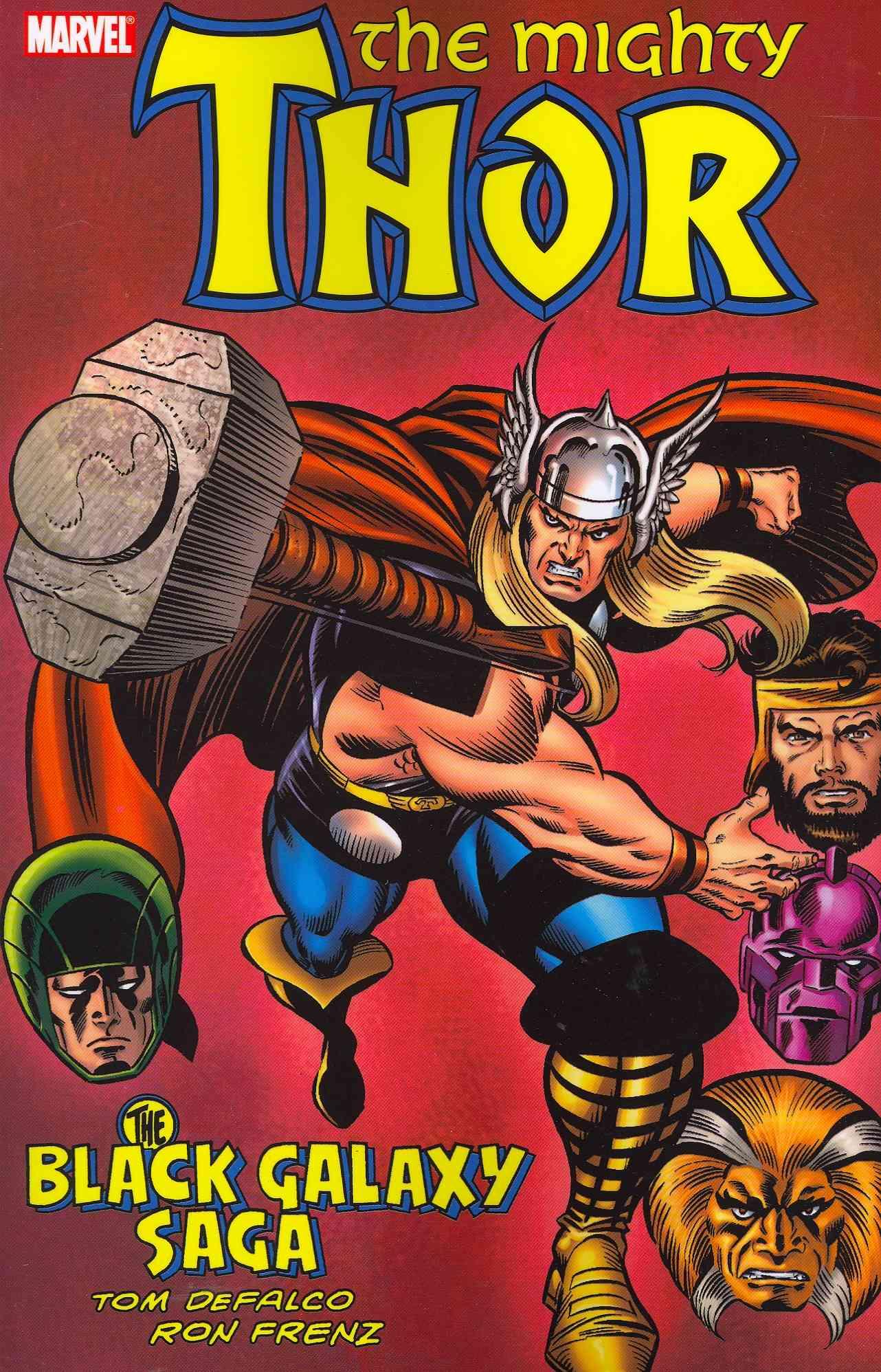 Thor: The Black Galaxy Saga (Paperback)