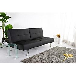 Delicieux Jacksonville Black Foldable Futon Sofa Bed