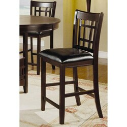 Merlot Splendor Counter Stools (Set of 2)