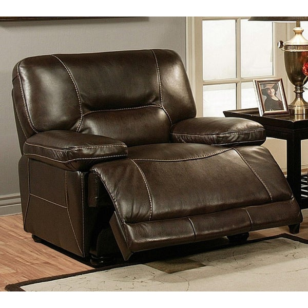 Abbyson Living Barrington Premium Top Grain Leather
