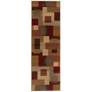 Patchwork Block Brown and Deep Red Area Rug|https://ak1.ostkcdn.com/images/products/5561363/P13333027.jpg?impolicy=medium