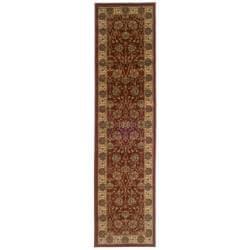 Indoor Red Oriental Rug (1'10 x 7'6)