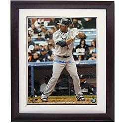 Carlos Pena Autographed Deluxe Frame Photograph - Thumbnail 0