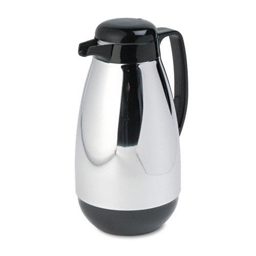 Coffee Maker Glass Lined Carafe : Hormel Vacuum Glass-lined Chrome-plated Carafe - Free Shipping Today - Overstock.com - 13333159