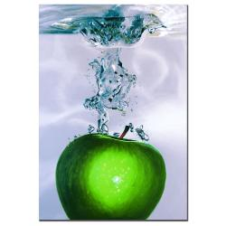 Roderick Stevens 'Apple Splash II' Canvas Art