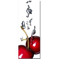 Roderic Stevens 'Cherry Splash II ' Canvas Art