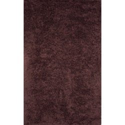 Handmade Brown Wool Rug - 5' x 8'