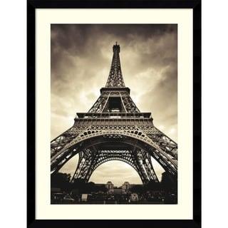 Marcin Stawiarz 'Eiffel Tower' Framed Art Print