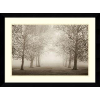 Igor Svibilsky 'Layers of Trees II (Large)' Framed Art Print