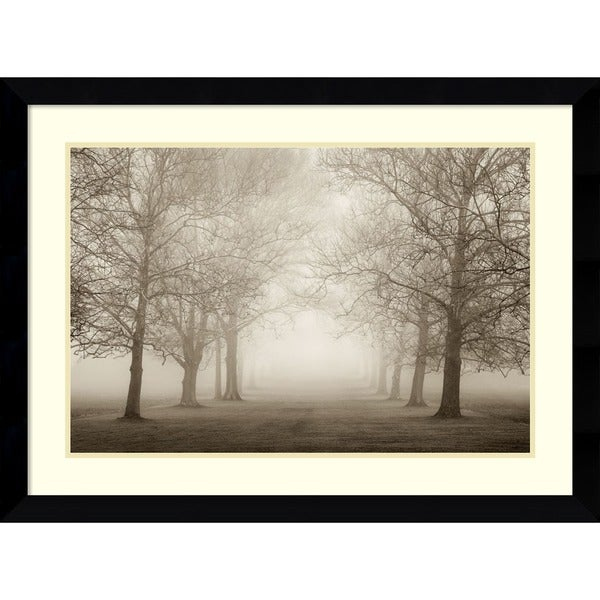 Shop Framed Art Print \'Layers of Trees II\' by Igor Svibilsky 35 x 26 ...