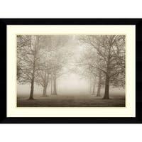 Framed Art Print 'Layers of Trees II' by Igor Svibilsky 35 x 26-inch