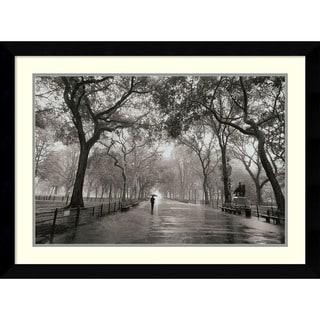 Henri Silberman 'Poet's Walk' Framed Art Print