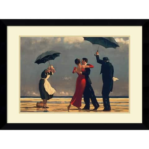 Framed Art Print 'The Singing Butler' by Jack Vettriano 38 x 28-inch