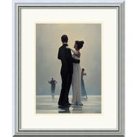 Framed Art Print 'Dance Me to the End of Love' by Jack Vettriano 18 x 22-inch