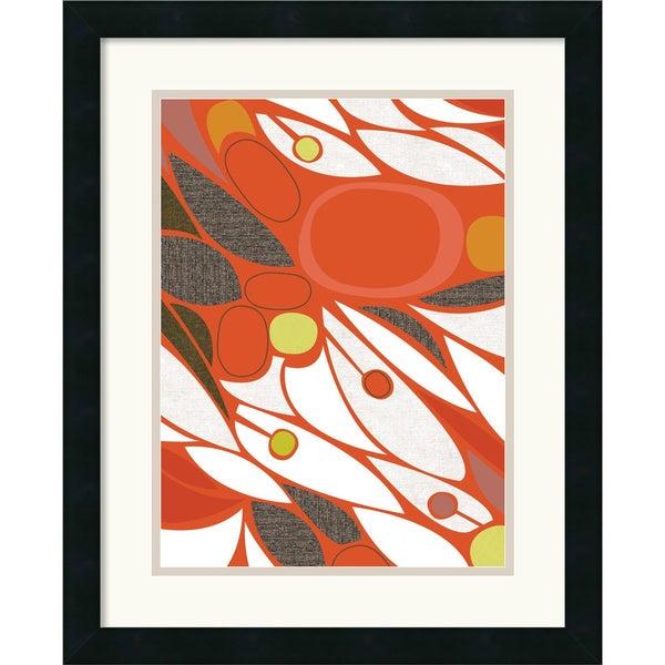 Jenn Ski 'Vacuoles No. 1' Framed Art Print