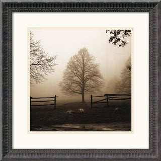 Framed Art Print 'Morning Texture' by Harold Silverman 19 x 19-inch