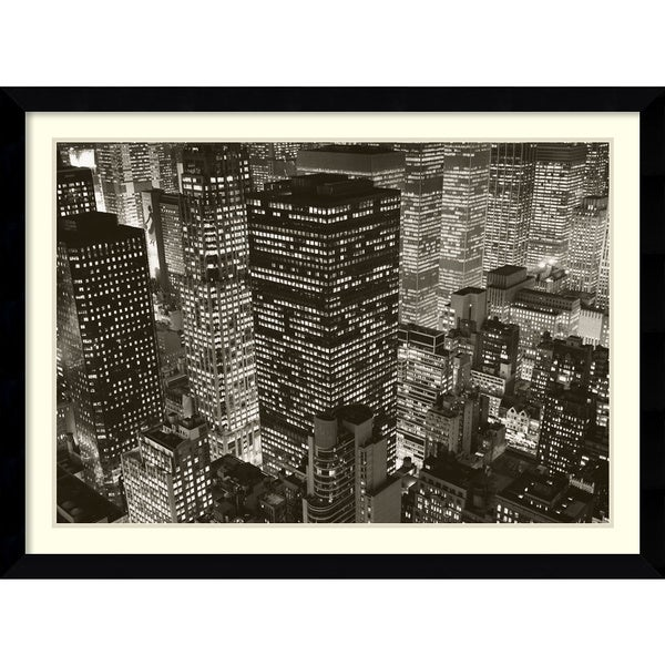 Michael Kenna 'Mary Poppins over Midtown, NY 2006' Framed Art Print