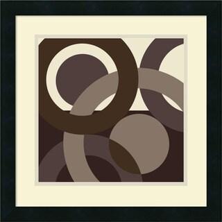 Framed Art Print 'Circa' by Denise Duplock 18 x 18-inch