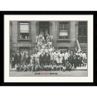 Art Kane 'Jazz Portrait- Harlem, 1958' Framed Art Print