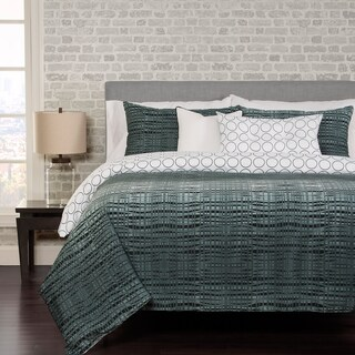Interweave 6-piece Duvet Cover Set with Duvet Insert (4 options available)