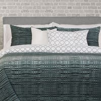 Interweave 6-piece Duvet Cover Set with Duvet Insert
