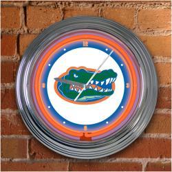 Florida Gators 15-inch Neon Clock - Thumbnail 2