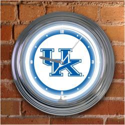 Kentucky Wildcats 15-inch Neon Clock - Thumbnail 2