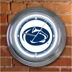 Penn State Nittany Lions 15-inch Neon Clock - Thumbnail 1
