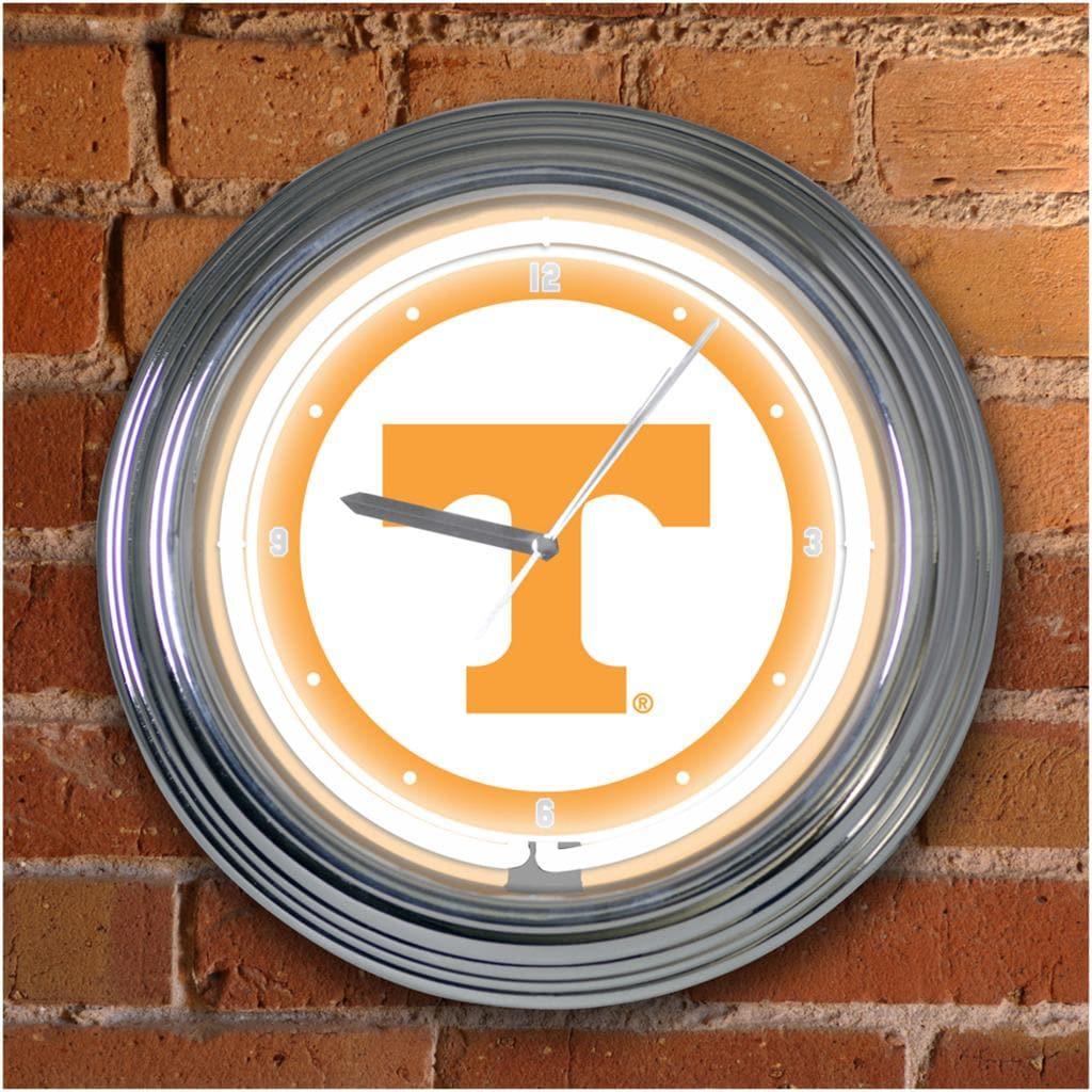 Tennessee Volunteers 15-inch Neon Clock