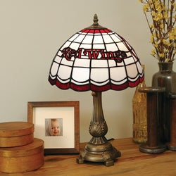 Tiffany-style Detroit Red Wings Lamp - Thumbnail 0