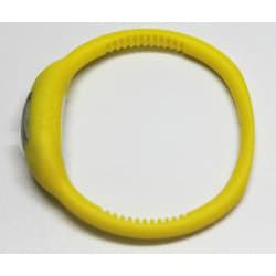 TRU Yellow Silicone Band Lightweight Water-resistant Sports Watch - Thumbnail 2